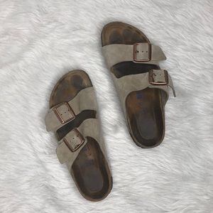 Birkenstock Arizona Soft Slide Sandal Size 38